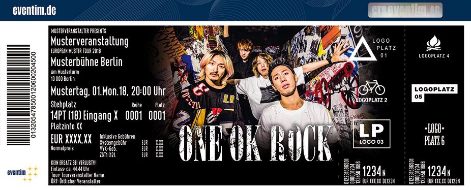 One Ok Rock Tickets 2018 - Karten jetzt zu Top-Preisen bestellen ...