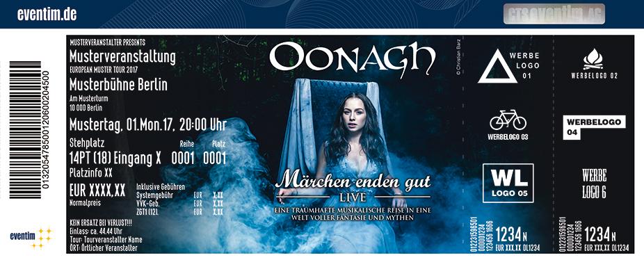 Karten für Oonagh: Märchen enden gut in Zwickau