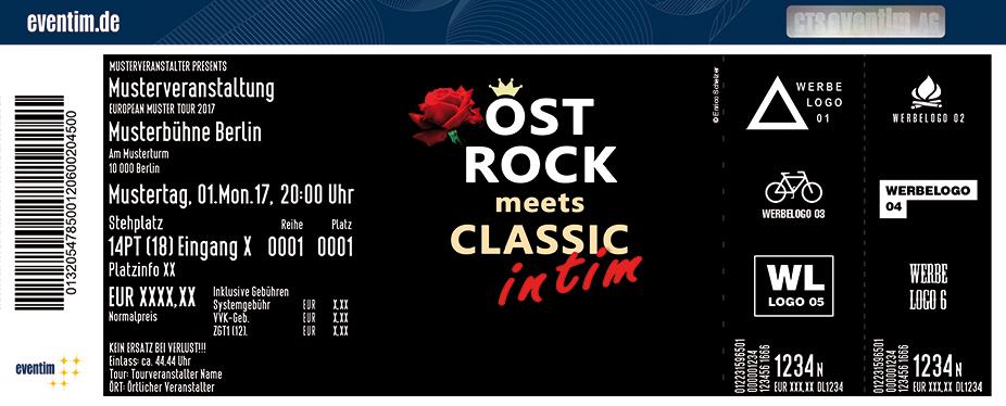 Karten für Ostrock meets Classic - INTIM in Ballenstedt