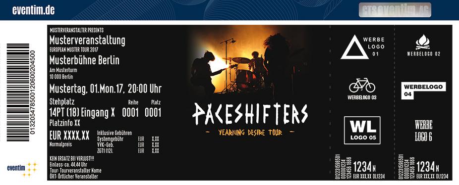 Paceshifters Karten für ihre Events 2018