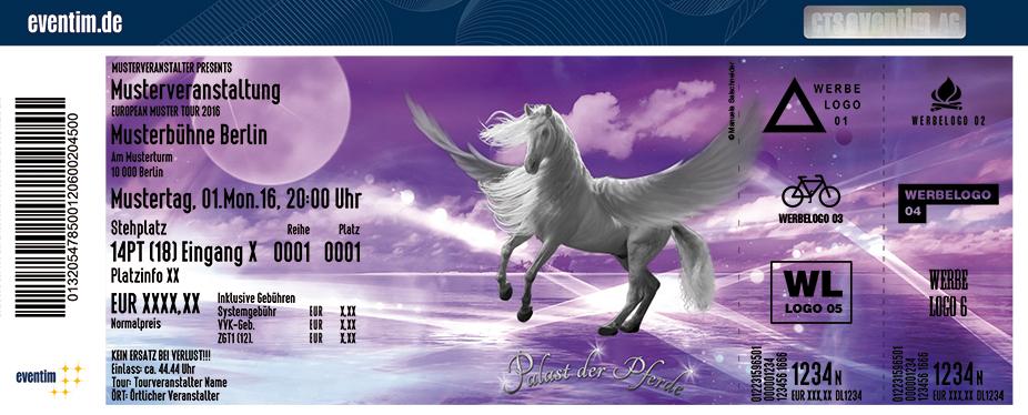 Karten für Palast der Pferde - Der geheimnisvolle Pegasus in Neumünster
