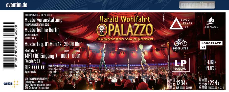 Palazzo Stuttgart Tickets