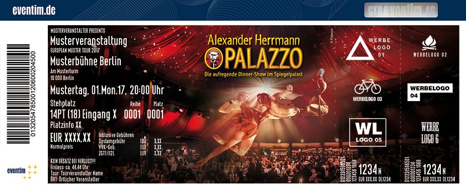 Karten für Alexander Herrmann PALAZZO in Nürnberg