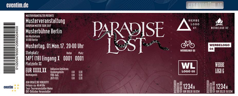Karten für Paradise Lost in Nürnberg