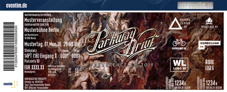 Parkway Drive: Reverence Tour 2019