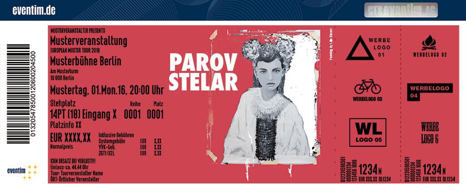 Parov Stelar Karten für ihre Events 2017