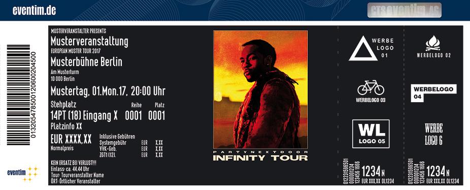 Karten für PartyNextDoor: Infinity Tour in Berlin