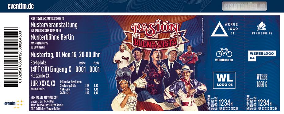 Karten für Pasión de Buena Vista in Braunschweig