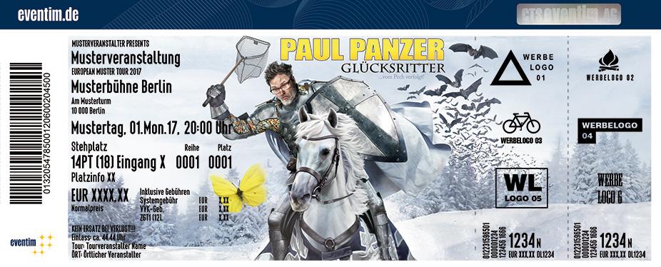 Karten für Paul Panzer: Glücksritter - vom Pech verfolgt in Flensburg