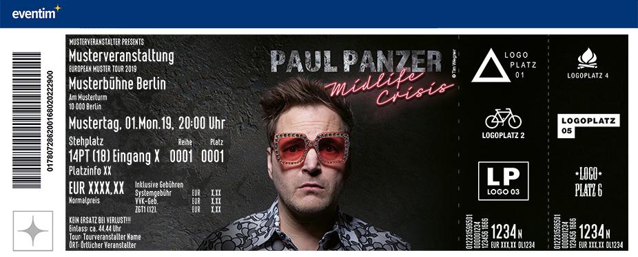 Paul Panzer - MIDLIFE CRISIS… willkommen auf der dunklen Seite