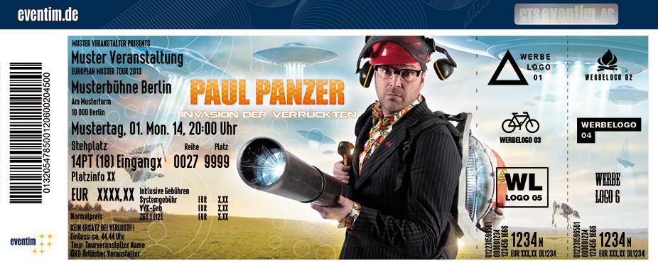 Karten für Paul Panzer: Invasion der Verrückten in Rostock