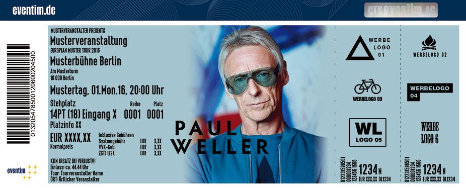 Karten für Paul Weller in Saarbrücken