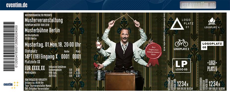 Jetzt Tickets Für Pawel Popolski Ausser Der Rand Und Der Band