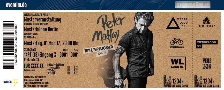 Karten für Peter Maffay: MTV Unplugged Tour 2018 in Kiel