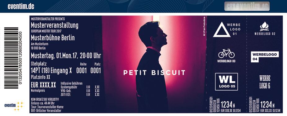 Petit Biscuit Karten für ihre Events 2017