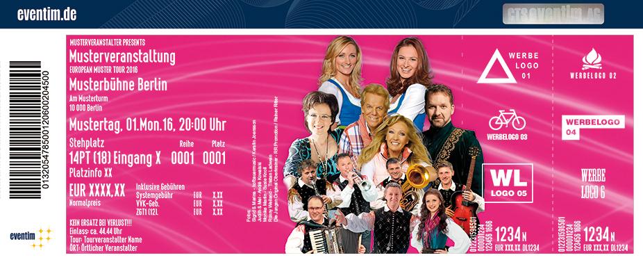 Das Große Pfingstfest Der Volksmusik Karten für ihre Events 2017