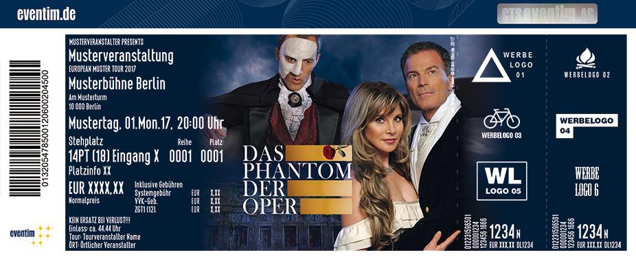 Karten für Das Phantom der Oper mit Deborah Sasson in Neubrandenburg