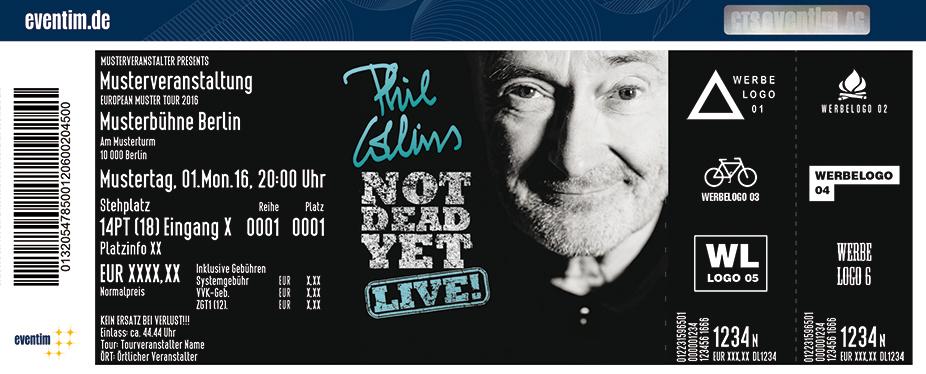 Phil Collins Karten für ihre Events 2017