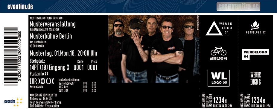 Karten für Phil Rudd Band: Back To The Beat Tour 2018 in Jena