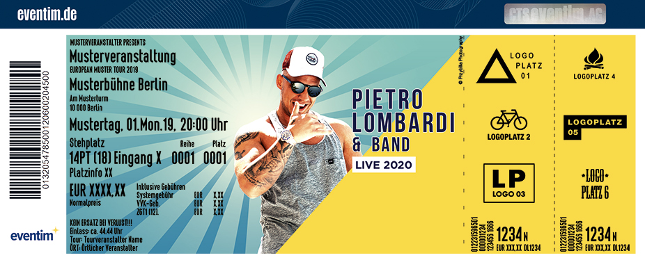 Pietro Lombardi & Band - Live | Burghauser Konzertsommer