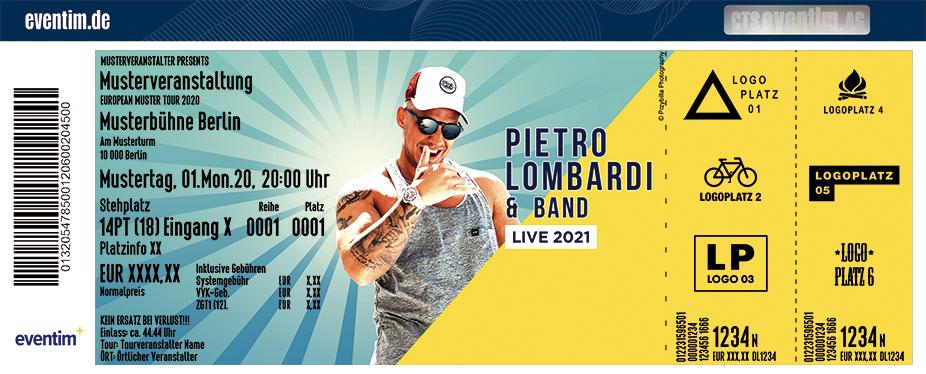 Pietro Lombardi & Band - Tour 2021