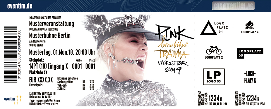 P!NK - Early Entry Package