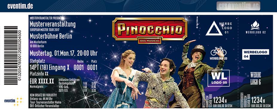 Karten für Pinocchio - das Musical in Wernigerode/harz