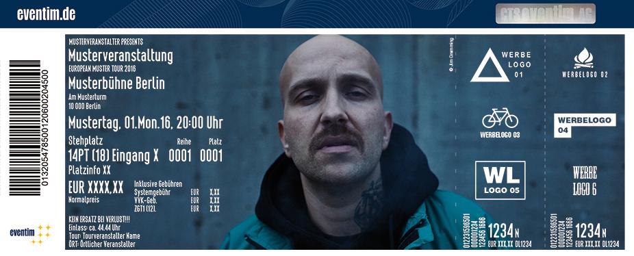 Karten für Plusmacher: Kushcooltour 2017 in Duisburg