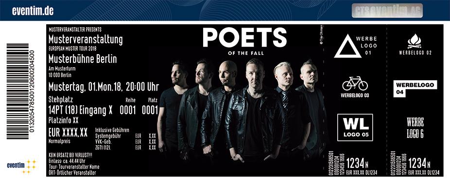 Karten für Poets Of The Fall in Berlin