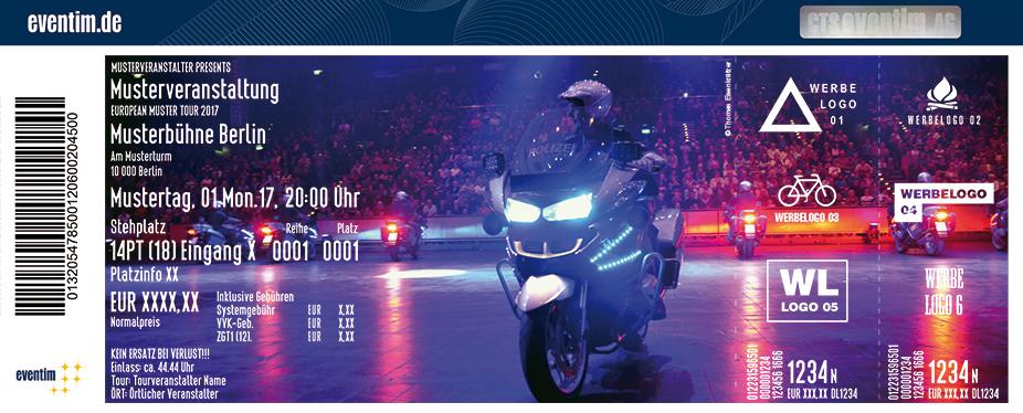 Karten für Polizei Show 2017 in Kiel