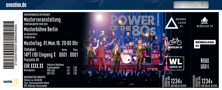 Karten für Power of the 80s in München