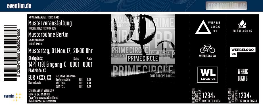 Karten für Prime Circle in Nürnberg