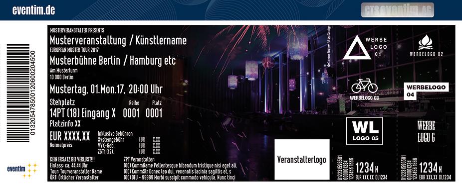 Die Große Berliner Silvesterparty Karten für ihre Events 2017