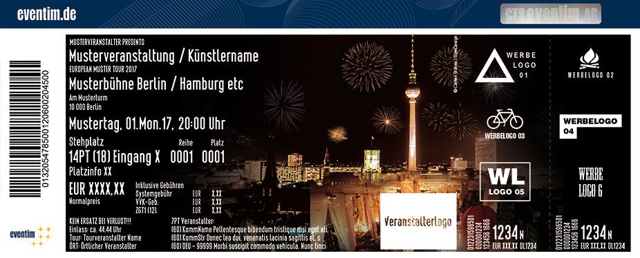 Karten für Deluxe Silvesternacht im Spreepalais am Alexanderplatz in Berlin