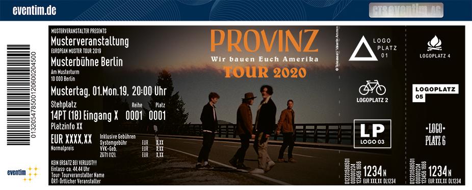 Provinz - Wir bauen Euch Amerika Tour 2021
