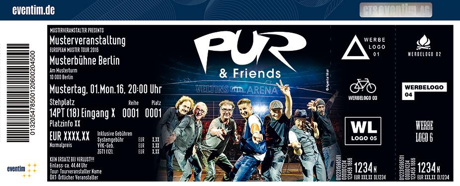 Karten für PUR & Friends 2017 in Gelsenkirchen