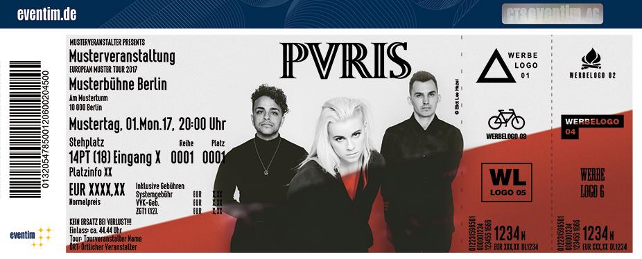 Karten für PVRIS in Köln