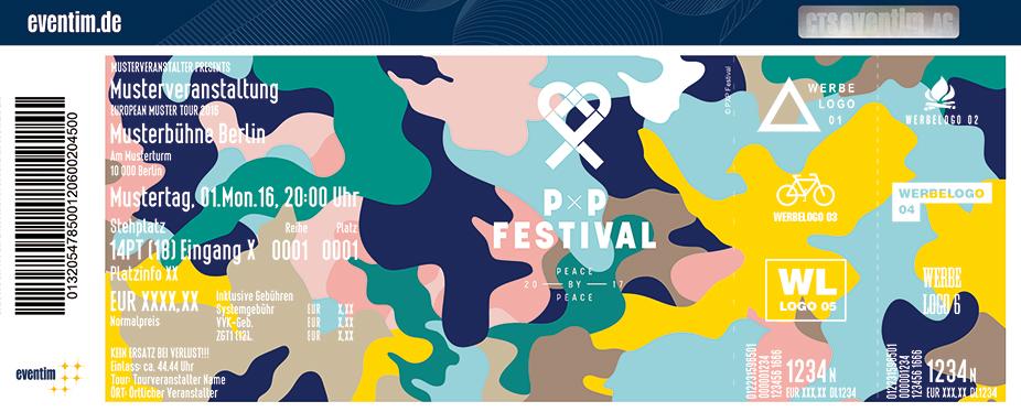 Peace X Peace Festival Karten für ihre Events 2017
