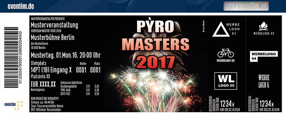 Karten für Pyro Masters 2017 in Oschersleben