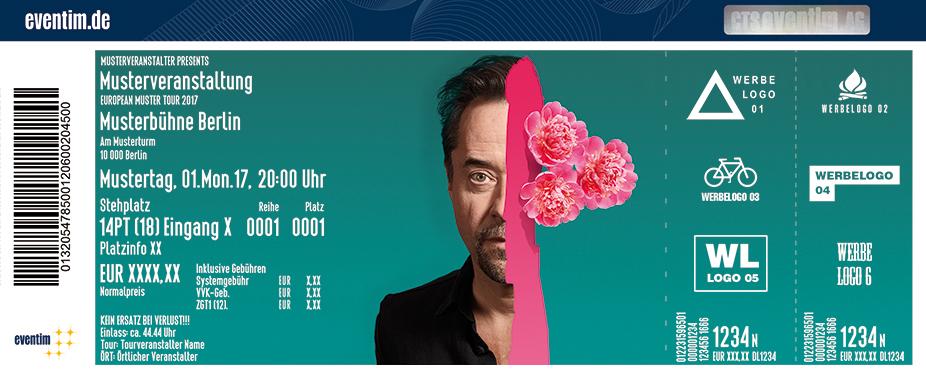 Karten für Radio Doria: 2 Seiten Tour 2018 in Rostock