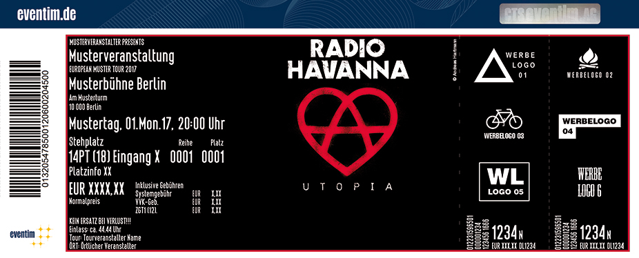 Karten für Radio Havanna: Utopia Tour in Hamburg
