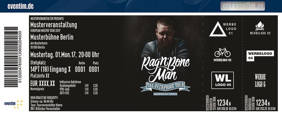 Rag'n'bone Man Karten für ihre Events 2017