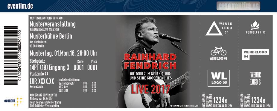 Rainhard Fendrich Karten für ihre Events 2017