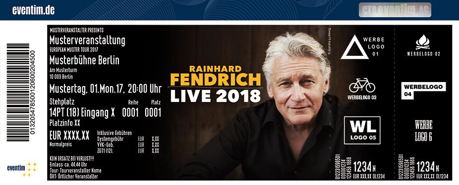 Karten für Rainhard Fendrich: Live 2018 in Freiburg