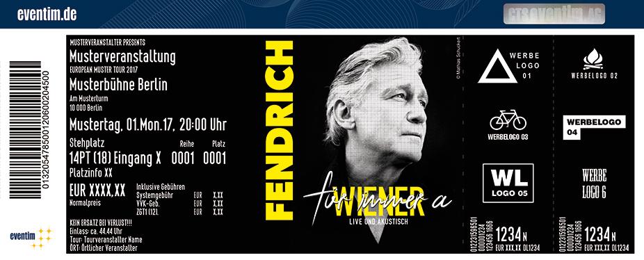 Rainhard Fendrich: Live 2018