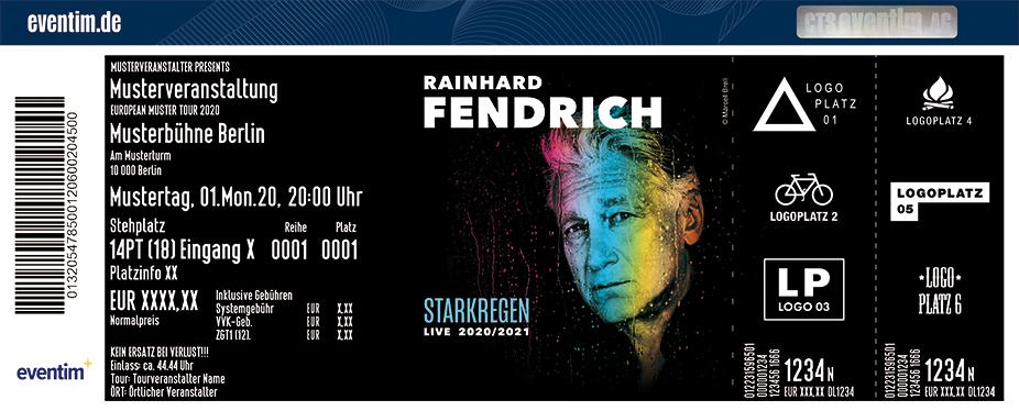 Rainhard Fendrich - Starkregen Live 2020/21