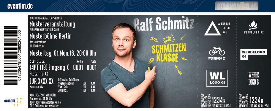 Karten für Ralf Schmitz: Schmitzenklasse in Mönchengladbach (Wickrath)