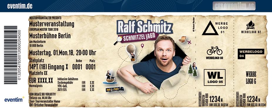 Karten für Ralf Schmitz: Schmitzeljagd in Hemer