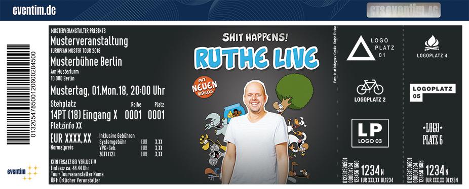 Ralph Ruthe: RUTHE LIVE - Shit Happens! 2019