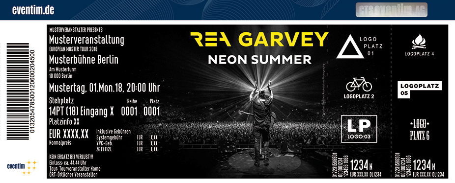 Rea Garvey - Neon Summer Tour